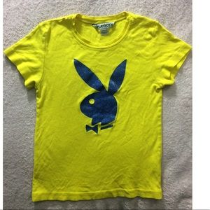 Vintage Playboy bunny late 1990s t shirt S/M